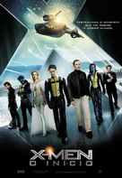 X-Men: First Class - Portuguese Movie Poster (xs thumbnail)