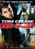 Mission: Impossible III - DVD movie cover (xs thumbnail)