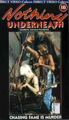 Sotto il vestito niente - British VHS cover (xs thumbnail)
