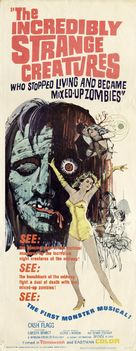The Incredibly Strange Creatures Who Stopped Living and Became Mixed-Up Zombies!!? - Movie Poster (xs thumbnail)