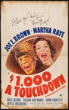 $1000 a Touchdown - Movie Poster (xs thumbnail)
