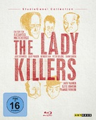 The Ladykillers - German Blu-Ray cover (xs thumbnail)