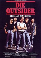 The Outsiders - German Movie Poster (xs thumbnail)