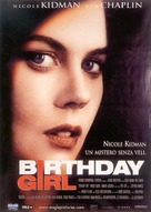 Birthday Girl - Italian Movie Poster (xs thumbnail)
