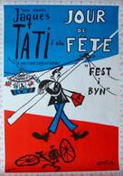 Jour de fête - Swedish Movie Poster (xs thumbnail)