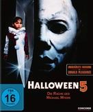 Halloween 5 - German Blu-Ray movie cover (xs thumbnail)