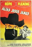 Alias Jesse James - Swedish Movie Poster (xs thumbnail)