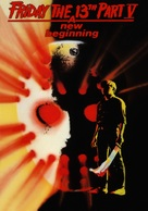 Friday the 13th: A New Beginning - DVD movie cover (xs thumbnail)