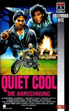 Quiet Cool - German VHS cover (xs thumbnail)