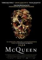 McQueen - Spanish Movie Poster (xs thumbnail)