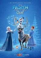 Olaf's Frozen Adventure - Italian Movie Poster (xs thumbnail)