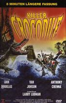 Killer Crocodile - German DVD cover (xs thumbnail)