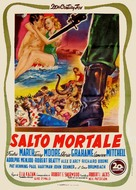 Man on a Tightrope - Italian Movie Poster (xs thumbnail)