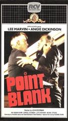 Point Blank - Dutch VHS movie cover (xs thumbnail)