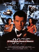 Tomorrow Never Dies - Spanish Movie Poster (xs thumbnail)
