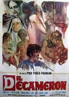 Il Decameron - Italian Movie Poster (xs thumbnail)