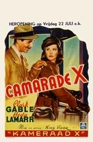 Comrade X - Belgian Movie Poster (xs thumbnail)