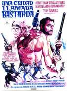 A Town Called Bastard - Spanish Movie Poster (xs thumbnail)