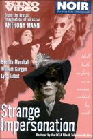 Strange Impersonation - DVD cover (xs thumbnail)