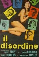 Il disordine - Italian Movie Poster (xs thumbnail)
