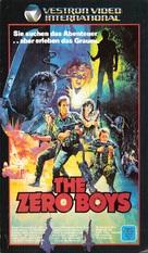 The Zero Boys - German VHS cover (xs thumbnail)