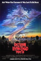 Return of the Living Dead Part II - Movie Poster (xs thumbnail)
