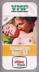 Schulmädchen-Report 11. Teil - Probieren geht über Studieren - German VHS cover (xs thumbnail)