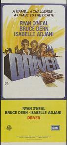 The Driver - Australian Movie Poster (xs thumbnail)