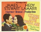 Come Live with Me - Movie Poster (xs thumbnail)