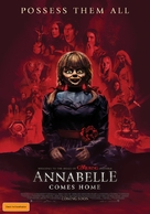 Annabelle Comes Home - Australian Movie Poster (xs thumbnail)