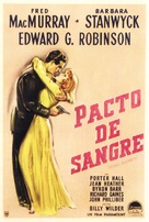 Double Indemnity - Argentinian Movie Poster (xs thumbnail)