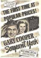 Sergeant York - Movie Poster (xs thumbnail)