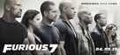 Furious 7 - Movie Poster (xs thumbnail)