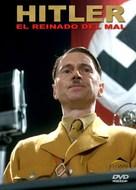 Hitler: The Rise of Evil - Spanish DVD cover (xs thumbnail)