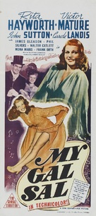 My Gal Sal - Australian Movie Poster (xs thumbnail)