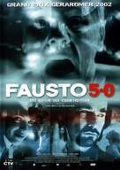Fausto 5.0 - French Movie Poster (xs thumbnail)