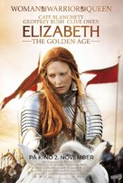 Elizabeth: The Golden Age - Norwegian Movie Poster (xs thumbnail)