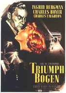 Arch of Triumph - German Movie Poster (xs thumbnail)