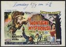 The Beast of Hollow Mountain - Belgian Movie Poster (xs thumbnail)