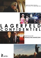 Lagerfeld Confidentiel - French DVD cover (xs thumbnail)