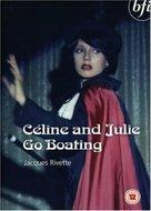 Céline et Julie vont en bateau - British DVD cover (xs thumbnail)
