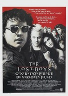 The Lost Boys - Belgian Movie Poster (xs thumbnail)