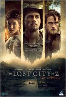 The Lost City of Z - South African Movie Poster (xs thumbnail)