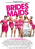 Bridesmaids - Dutch Movie Poster (xs thumbnail)