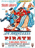 The Princess and the Pirate - French Movie Poster (xs thumbnail)