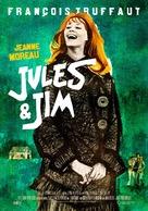 Jules Et Jim - Swedish Re-release movie poster (xs thumbnail)