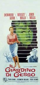 The Chalk Garden - Italian Movie Poster (xs thumbnail)
