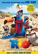 Rio - German Movie Poster (xs thumbnail)