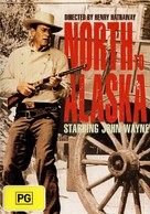 North to Alaska - Australian DVD cover (xs thumbnail)