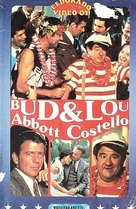 Bud and Lou - Finnish VHS movie cover (xs thumbnail)